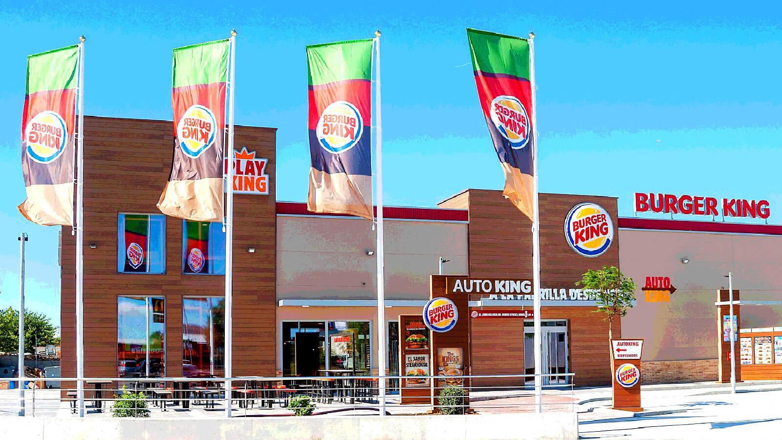 burger king Inca banderas